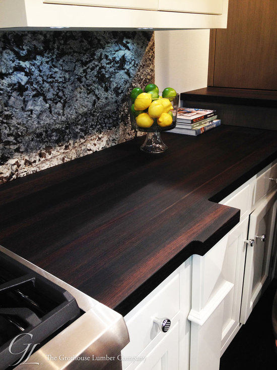 Wenge Countertops in the Bremtown Cabinetry display booth at KBIS 2014 -