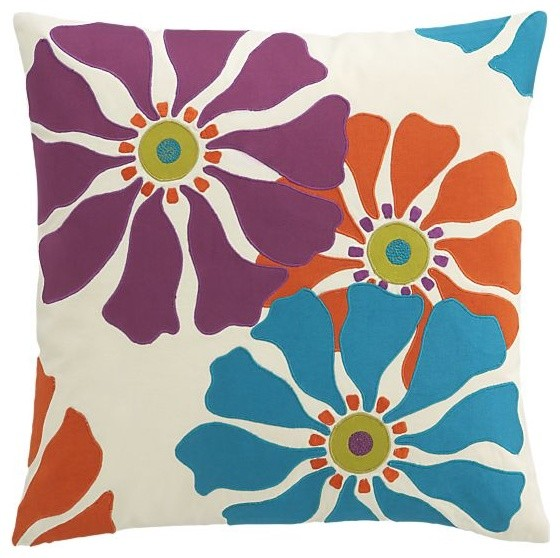 Audra 20 Pillow | Crate&Barrel eclectic pillows