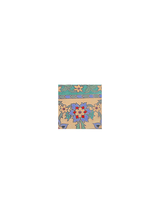 Handpainted Ceramic Tile Old California Collection - Item CB021