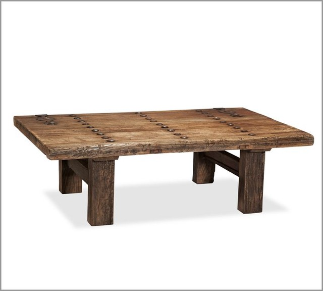 Hastings Reclaimed Wood Coffee Table eclectic coffee tables