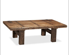 Hastings Reclaimed Wood Coffee Table eclectic-coffee-tables