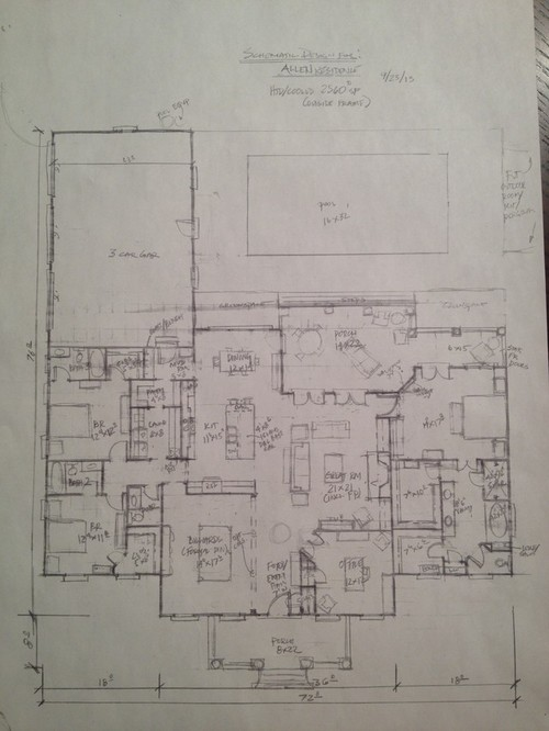 Decorating A 12x14 Living Room: Please Review/critique My Floor Plan