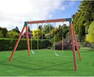 eastern jungle gym classic a frame cedar swing set with