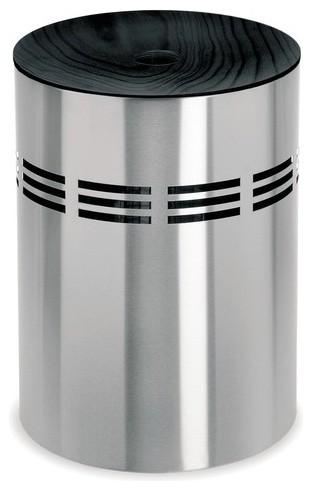 Slice laundry bin with black wooden lid modern hampers by allmodern - Modern hamper with lid ...