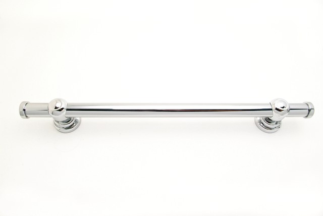 eclectic towel bars and hooks by Abbie Sladick