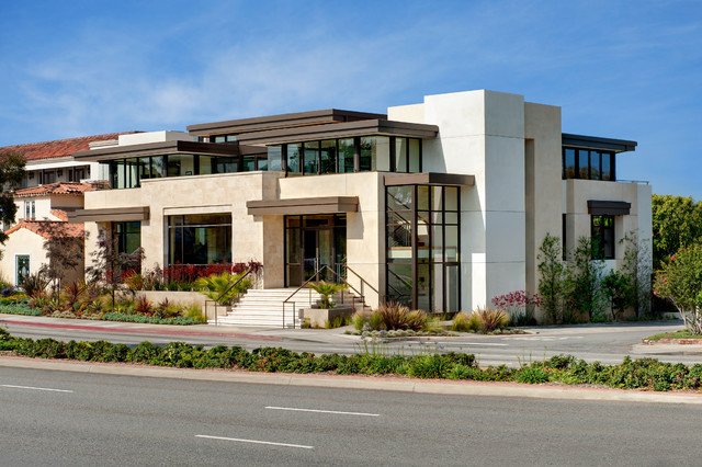 Tomaro design group office building contemporary los for Modern small office building design