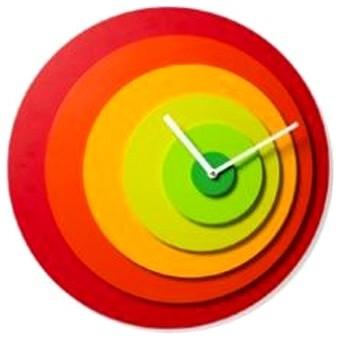 Target Wall Clock contemporary-clocks