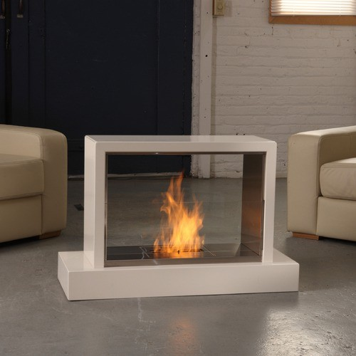 Real flame insight ventless gel fuel fireplace modern for Ventless fireplace modern