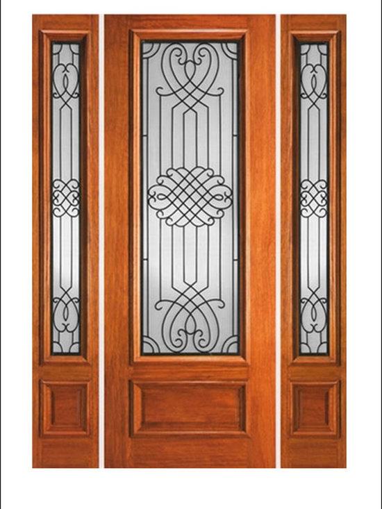 IR Iron Insulated Entry Doors Model  # 739 -
