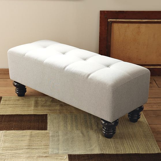 Essex Tufted Bench modern-benches