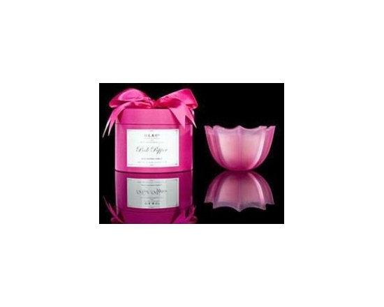 Pink Pepper Medium Scallop Candle -