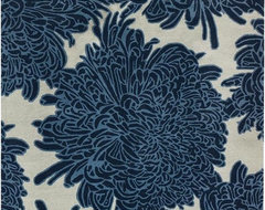 Chrysanthemum Area Rug contemporary-rugs