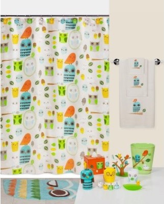 Creative Bath Give a Hoot Shower Curtain - modern - shower ...