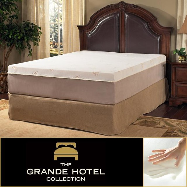Grande Hotel Collection Posture Support 8 inch King size