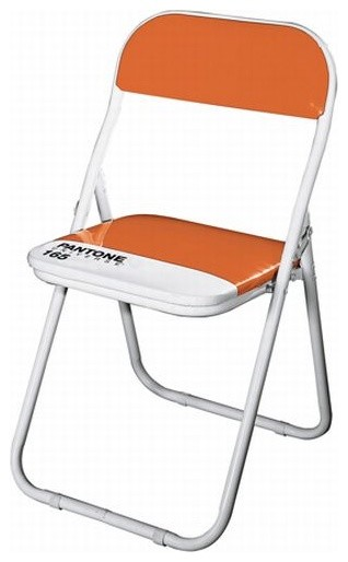 Pantone Folding Chair Orange Modern Folding Chairs And Stools by Helio