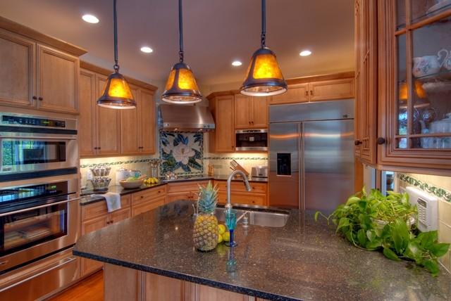 Magnolia Tile traditional-kitchen