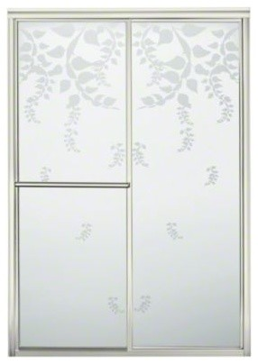"""STERLING Deluxe By-pass Shower Door - Height 70"""", Max. Opening 48-7/8"""" contemporary-showerheads-and-body-sprays"""
