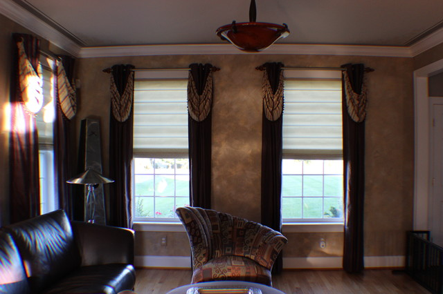 Window Treatments contemporary-curtains