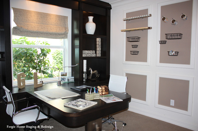 home staging and interior redesign contemporary home