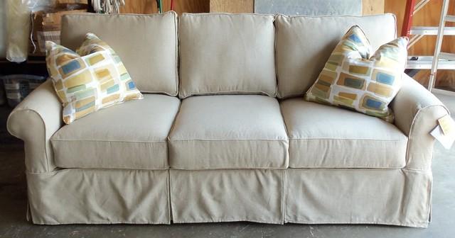 Bon Rowe Nantucket Slipcover Sofa, Loveseat, Chair And Ottoman  Sofas