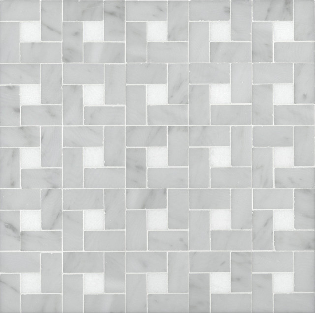 Signet Collection Arc dMidi Mosaic traditional bathroom tile