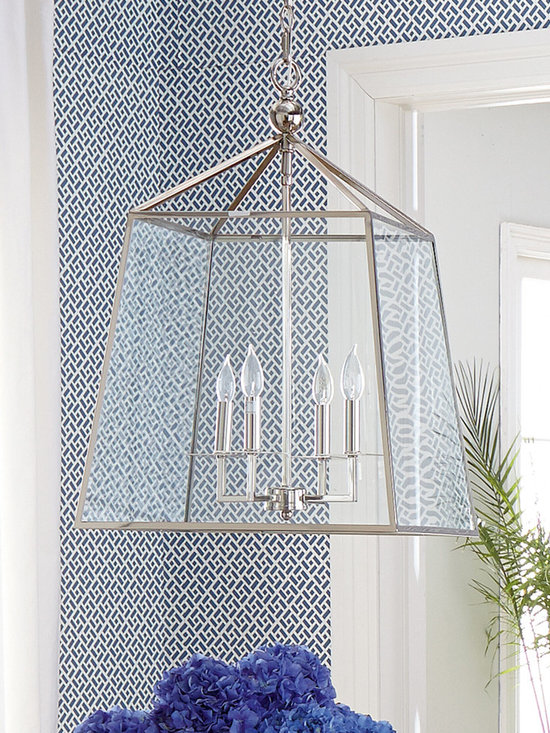 Lighting - A modern-design chandelier brings can't-miss-it style to any living space. An extra-long chandelier chain allows for added versatility