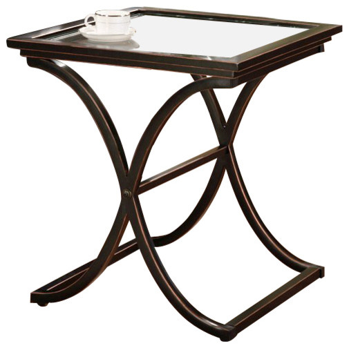 Holly & Martin Roxburgh End Table in Black contemporary-side-tables-and-accent-tables