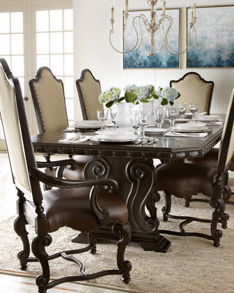 Perona Dining Set traditional-dining-tables