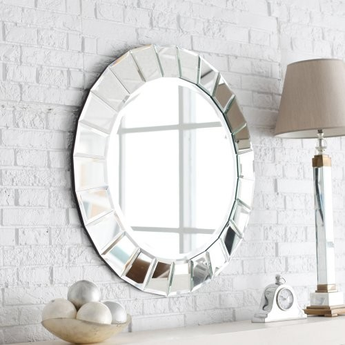 The Fortune Venetian Mirror is the ultimate in contemporary design. It has a mul contemporary-mirrors