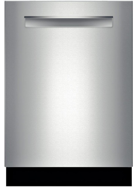"Bosch 500 Series 24"" Flush Handle Dishwasher, Stainless Steel 