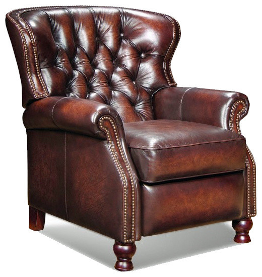 BarcaLounger Presidential II Leather Recliner Modern