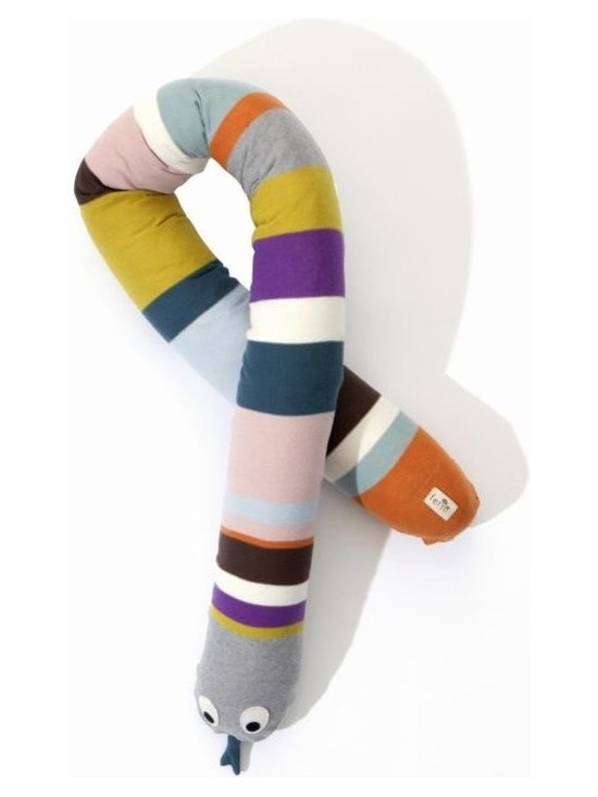 Ferm Living Mr. Snake Pillow - Ferm Living Mr. Snake Pillow