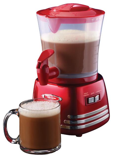 Hot Chocolate Coffee Maker ~ Nostalgia electrics retro series hot chocolate maker