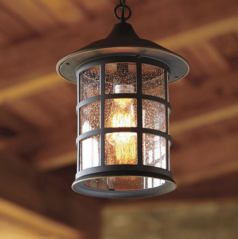 Bolton outdoor pendant farmhouse outdoor hanging for Exterior lighting design