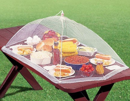 Picnic Table Food Tent contemporary