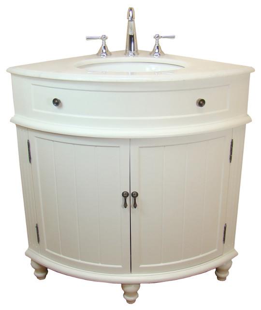 24 Thomasville Corner Sink Bathroom Vanity Cf 47533w Contemporary Bathroom Vanities And