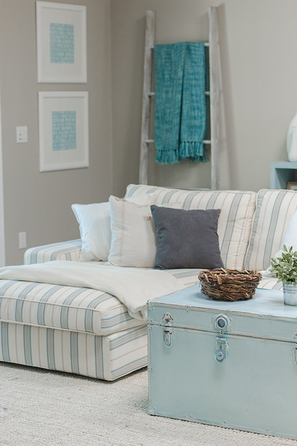 chaise lounge sofa slipcover beach theme living room Slipcovers for Chaise Lounge Sofa Small Chaise Lounge