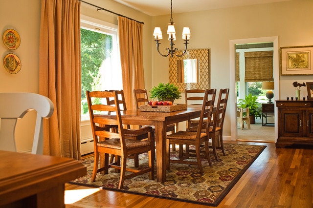 Tiverton Country Home traditional-dining-room