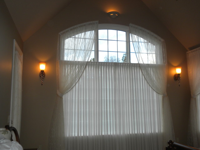 Arched top windows modern-window-treatments