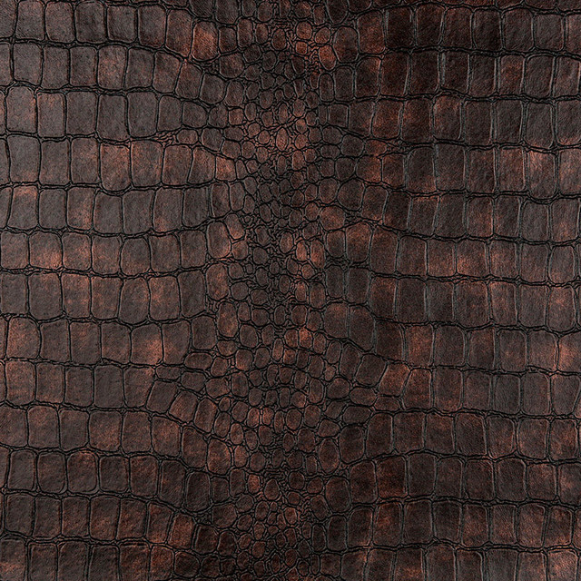 Alligator Upholstery Faux Leather By The Yard contemporary-upholstery-fabric
