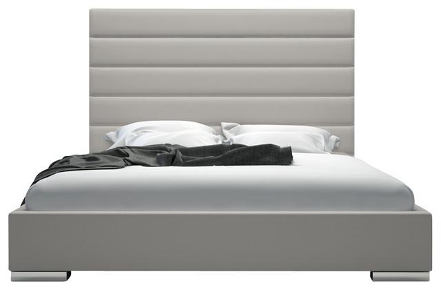 Grey King Bed Headboard 640 x 420