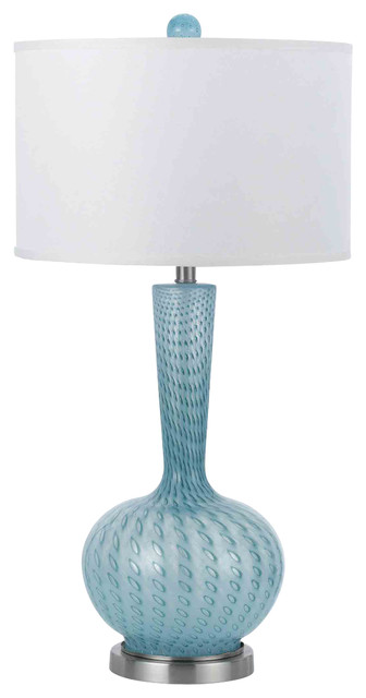 Candice Olson 8224-TL Oasis Satin Nickel Table Lamp contemporary-table-lamps