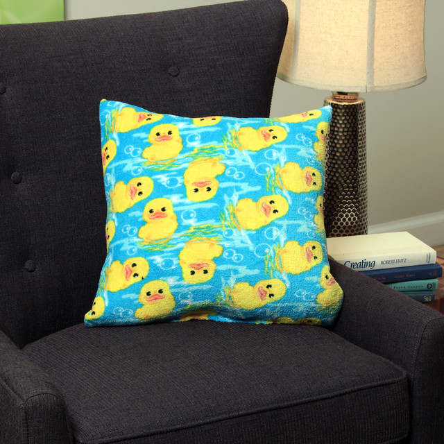 Decorative Plush Pillows : Duck Plush Decorative Throw Pillow - Contemporary - Pillows - by Overstock.com