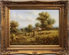 Hardwood Framed Oil Painting home-decor