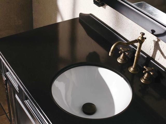 "60"" Peruga Single Bath Vanity - Burnished Mahogany traditional"
