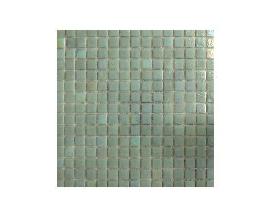 Milk Gren Glass Mosaic -