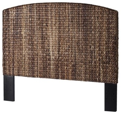 Andres Headboard, Dark Brown, Queen contemporary-headboards