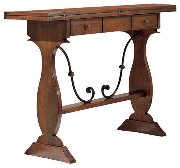 Tuscan Extending Console Table Traditional Console