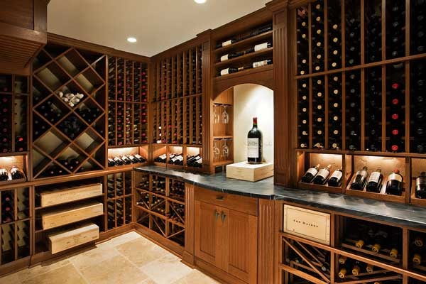 CRWC T2 traditional wine cellar