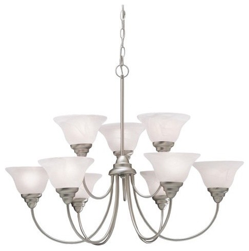 Kichler Telford 2077 Chandelier - 33.5 in. traditional chandeliers